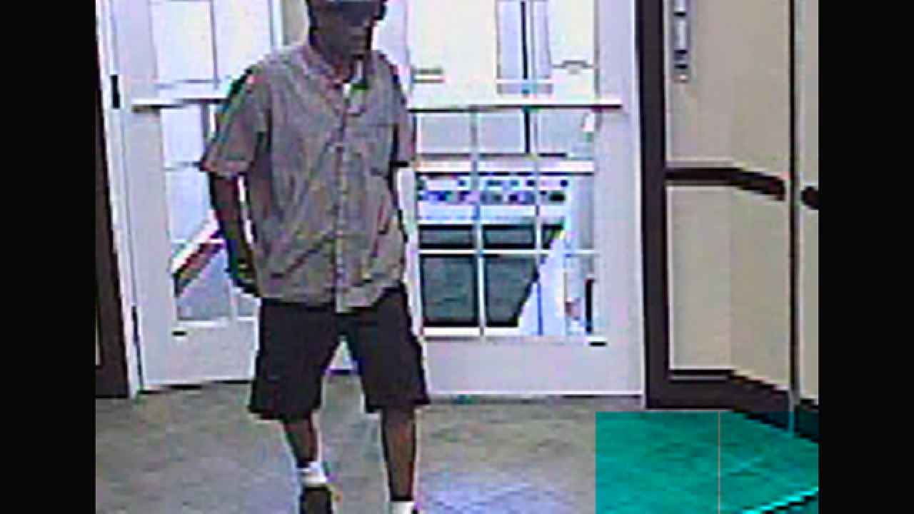 Westminster bank robbed, suspect at large