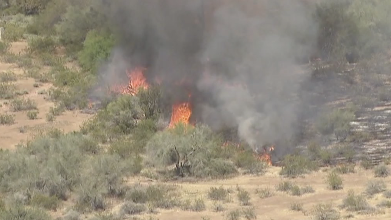 Painted Wagon Fire in Wittmann