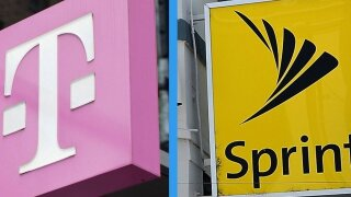 Sprint, T-Mobile Logo