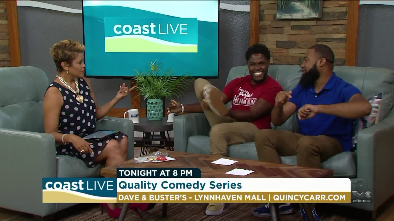 Headliner Keith Correy from the Quality Comedy Series on CoastLive