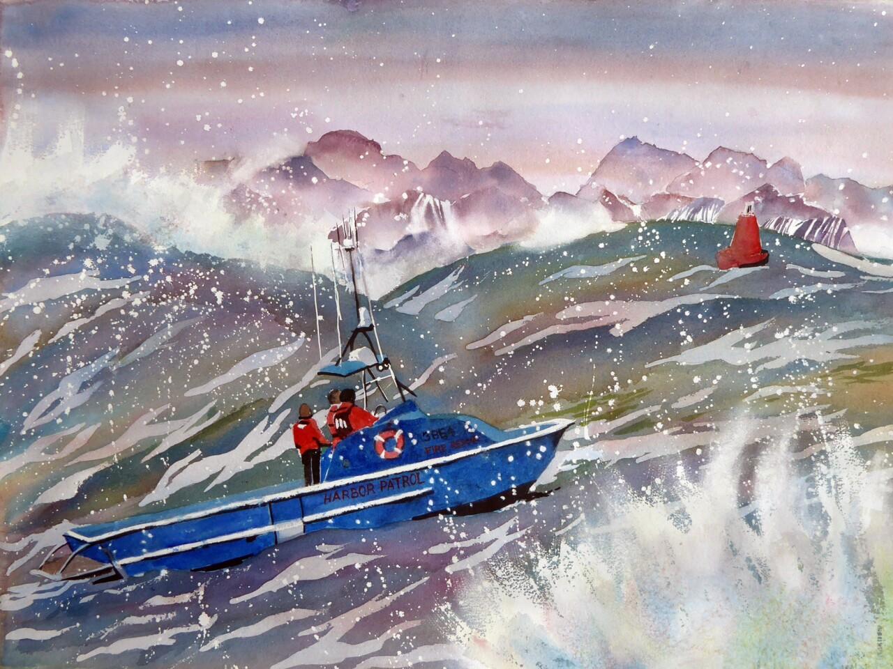 Harbor Storm by Ardella Swanberg