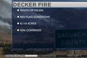 Decker Fire burns over 8,000 acres, more evacuation orders in place