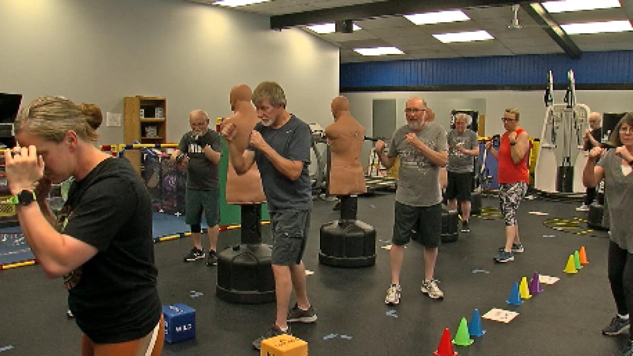 Parkinson's boxing classes