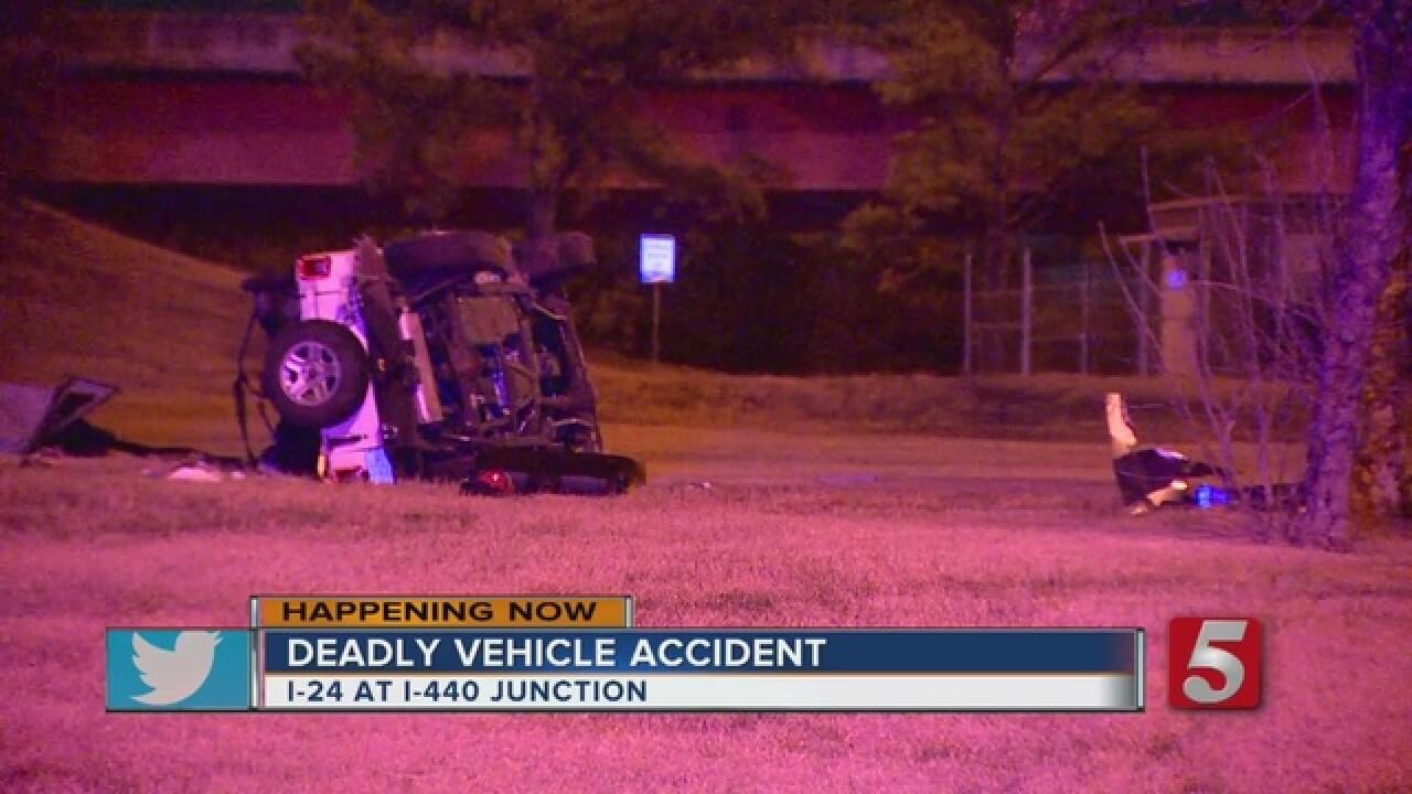 1 Killed In Crash On Interstate 440