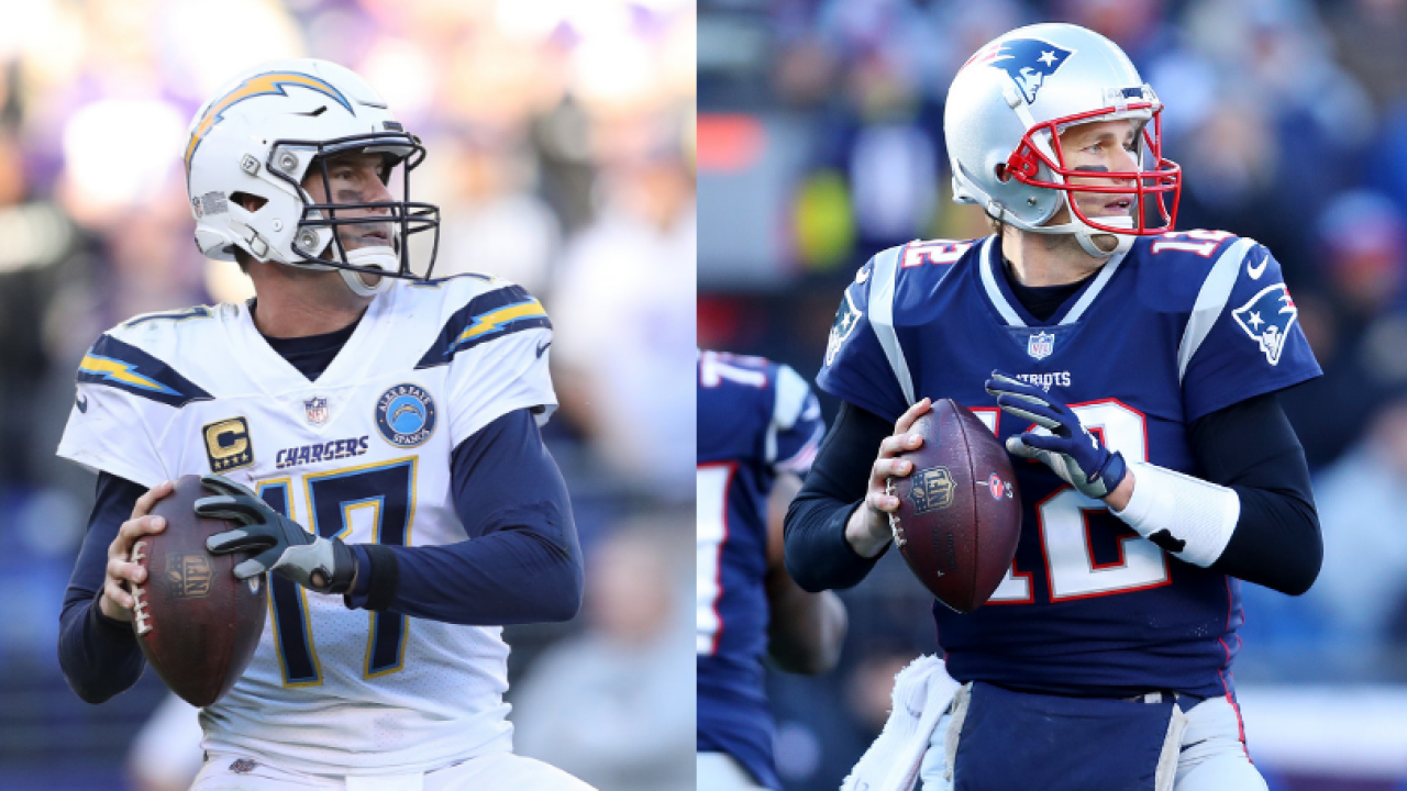 Chargers vs Patriots: Two veteran quarterbacks set to duel for spot in AFC Championship