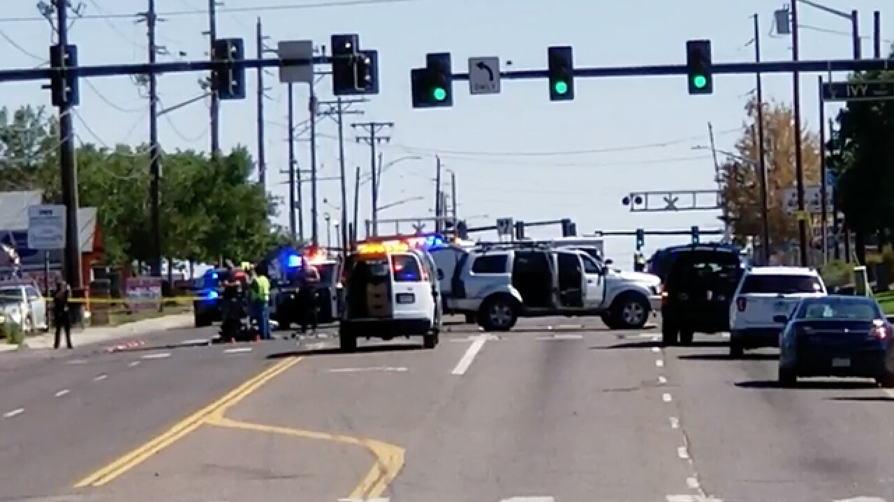 Driver of stolen motorcycle dies in crash after escaping from police in Commerce City