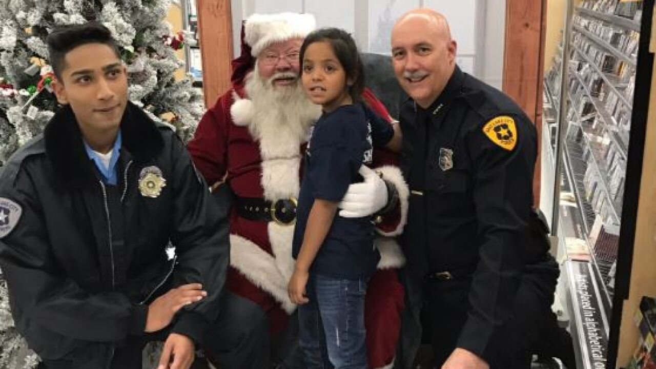 Children across Salt Lake Valley 'Shop with a Cop'