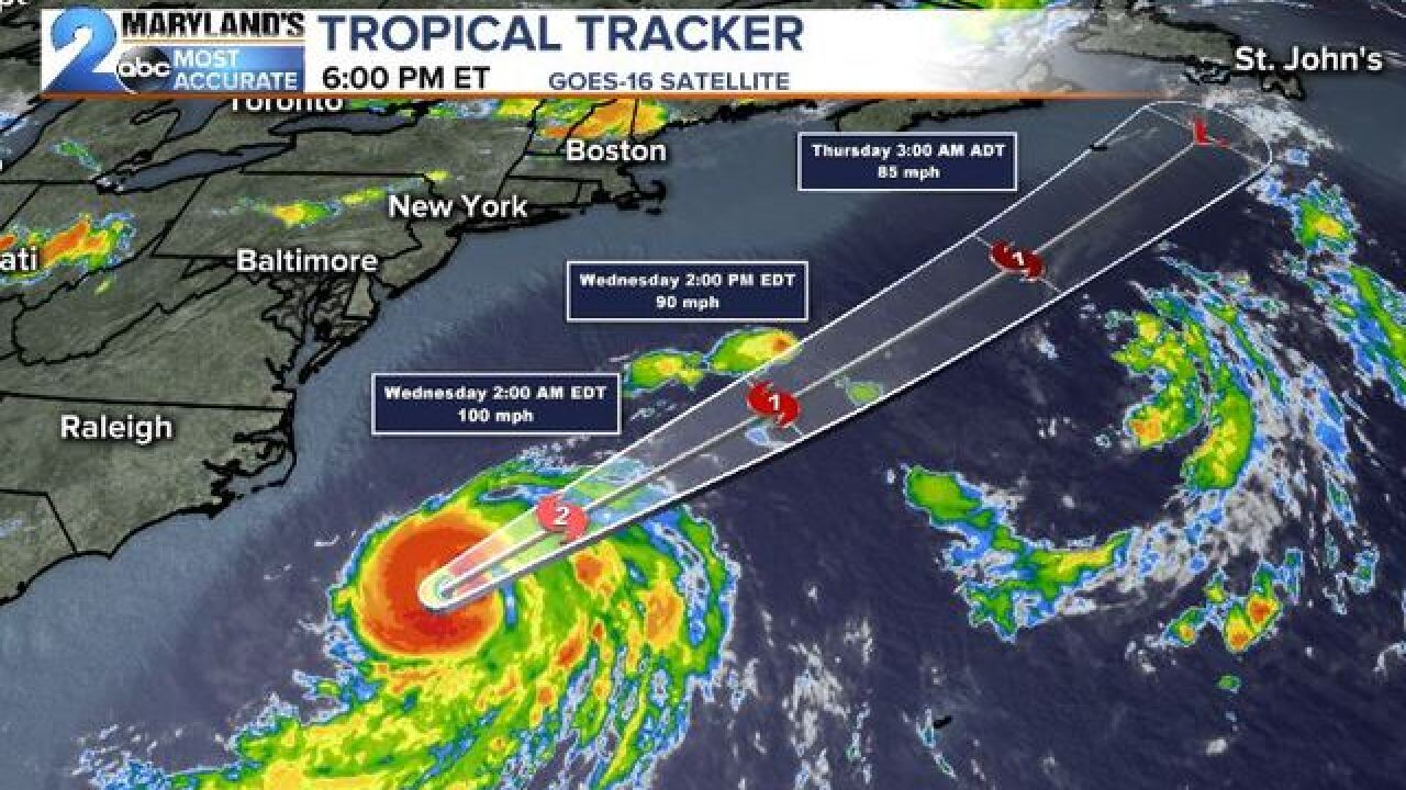 TROPICAL TROUBLES: Hurricane Chris Stays Away