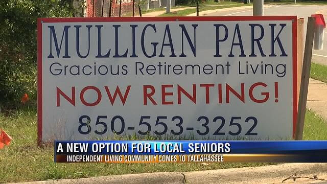 New Retirement Community Developing in Northeast Tallahassee