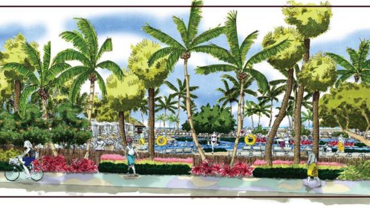 Developer applies for new beach resort
