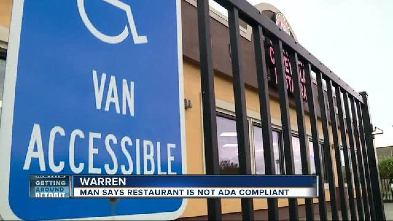 Fight for accessible handicap parking spaces