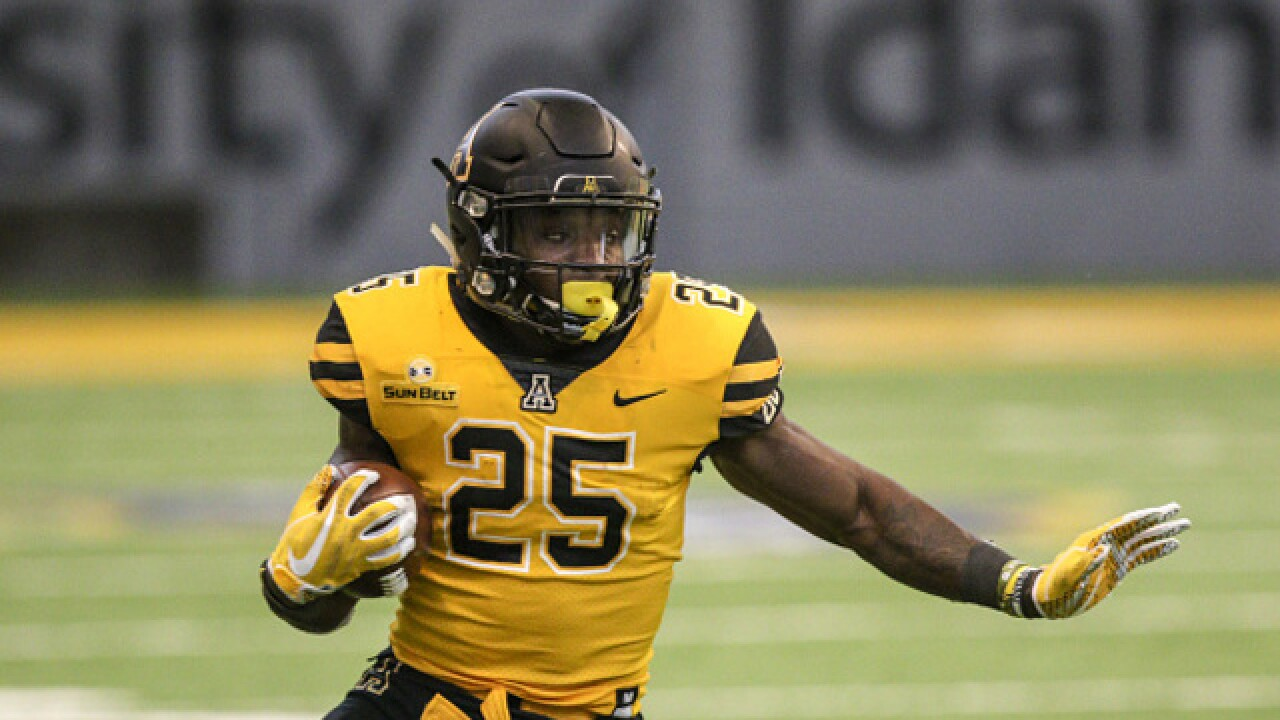 Lamb leads 23-point rally, Appalachian St. tops Idaho 24-20