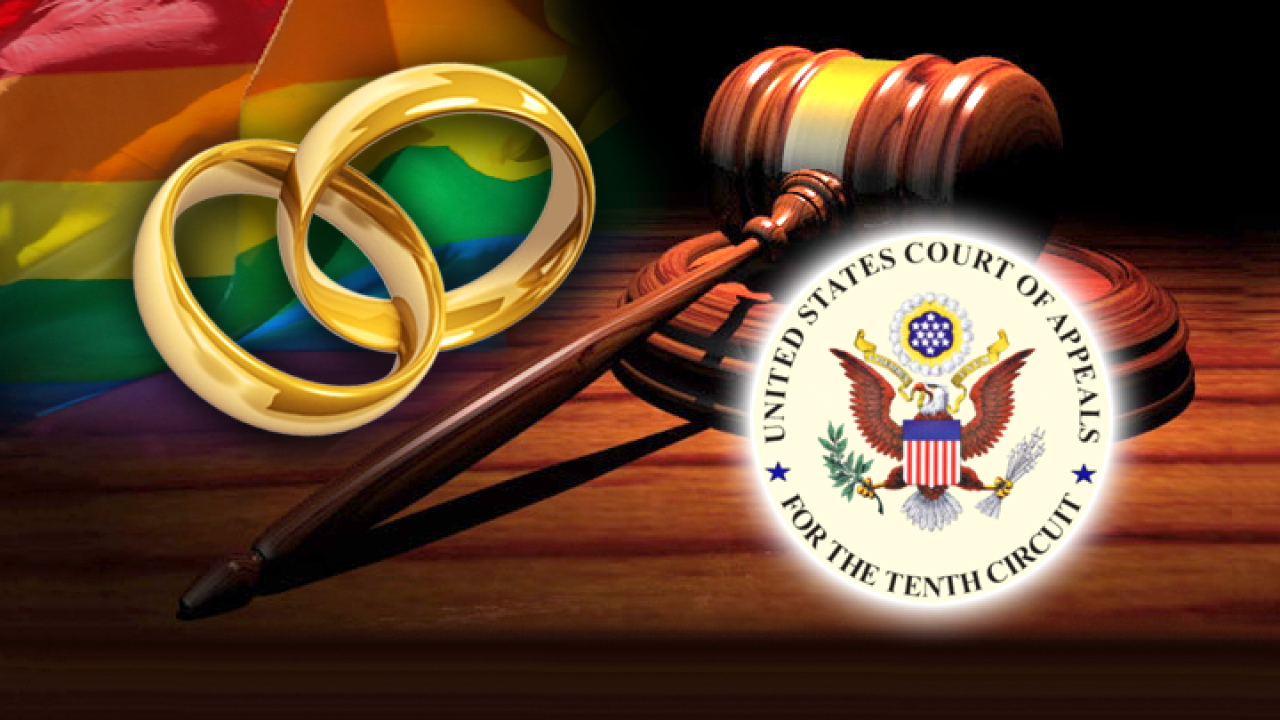 The 10th Circuit Court could rule any day now on same-sex marriage in Utah