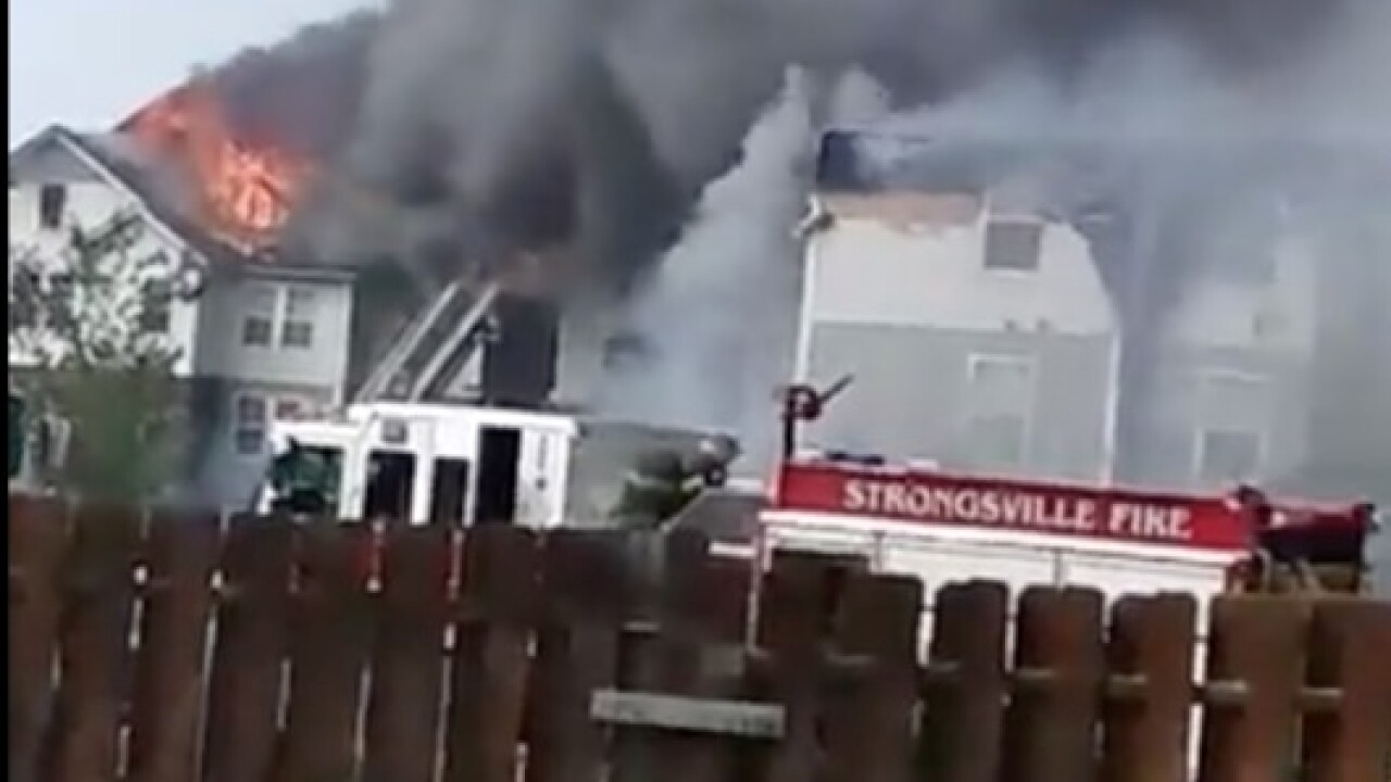 LIVE: Update on massive Olmsted Falls fire