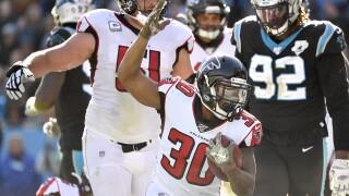 Niagara Falls' own Qadree Ollison scores first career NFL touchdown