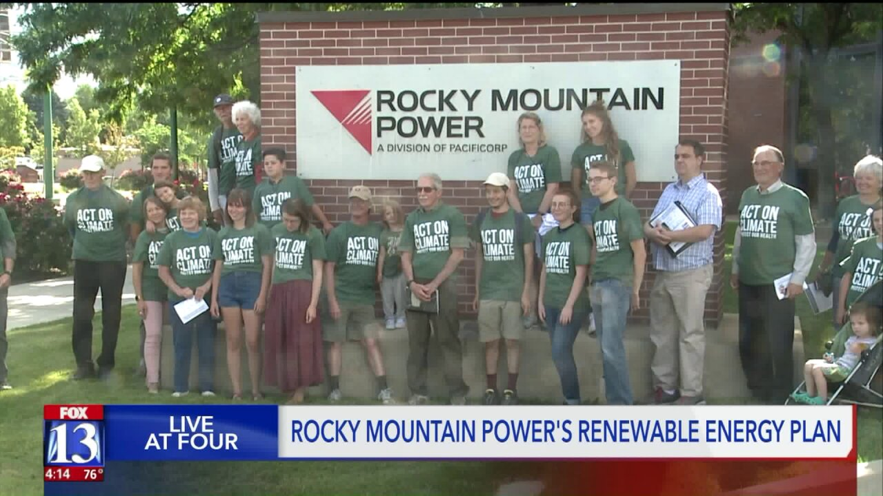 Rocky Mountain Power discusses future energy production, Sierra Club calls for coal plant retirements