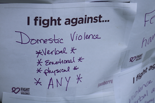 Photos: Community gathers to hold domestic violence expo in honor of BellamyGamboa