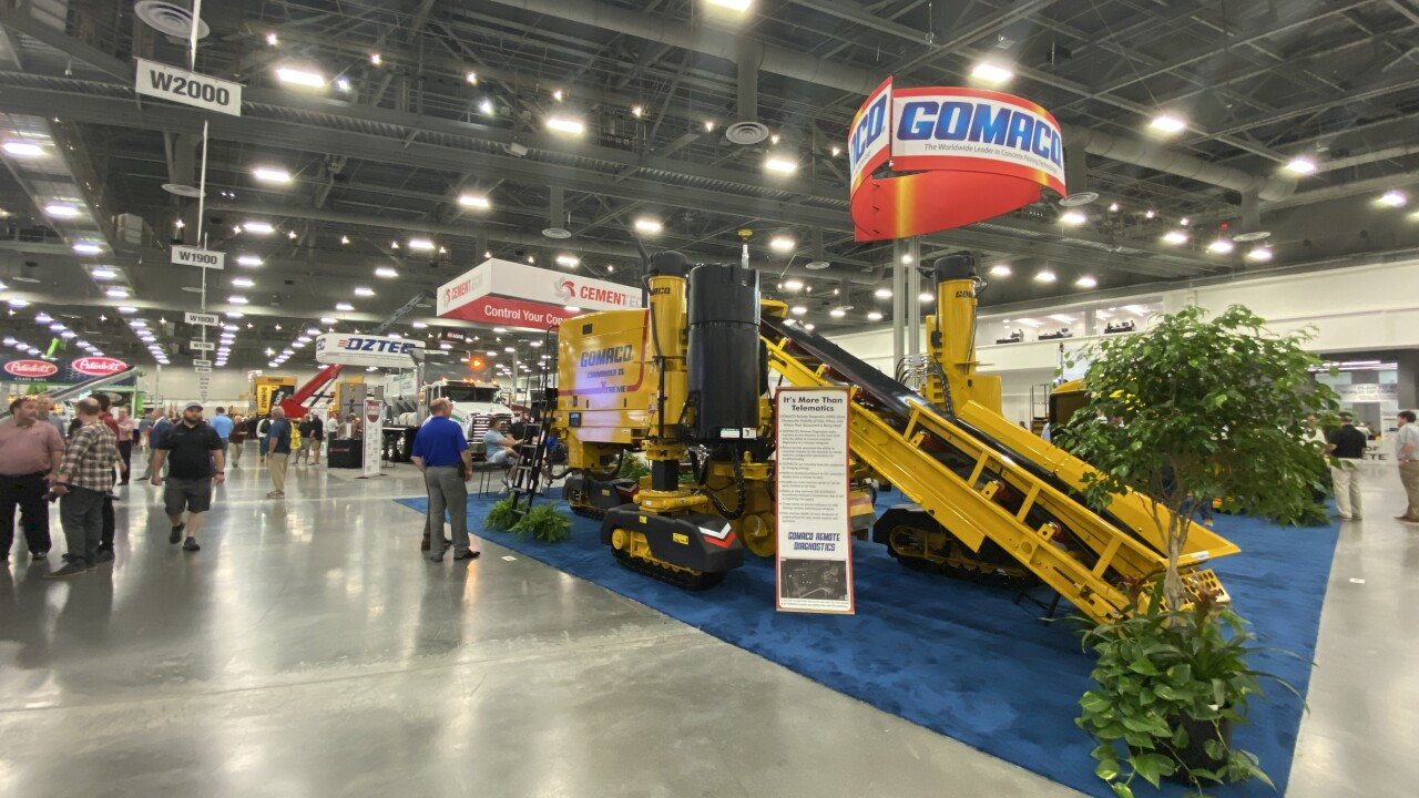 The World of Concrete is back at the Las Vegas Convention Center this week