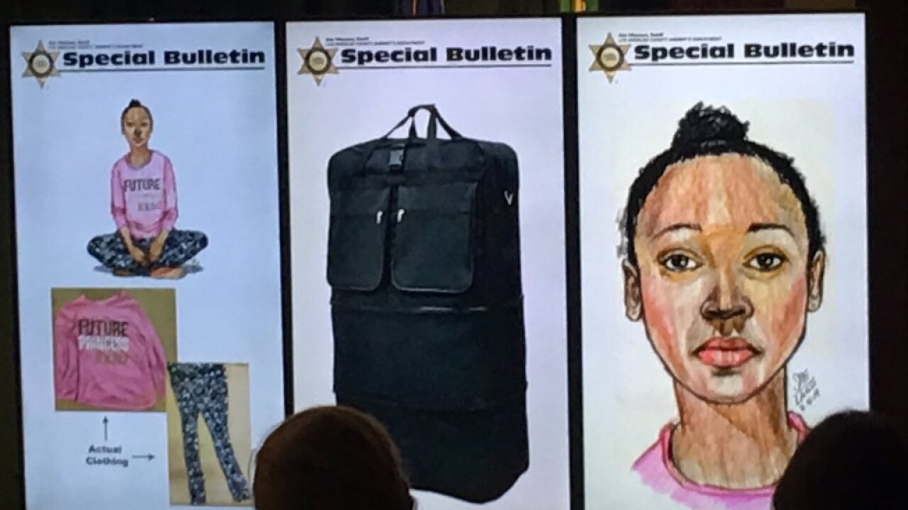 California police hoping to identify body of woman found in duffel bag