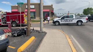 1 man injured in collision in Great Falls