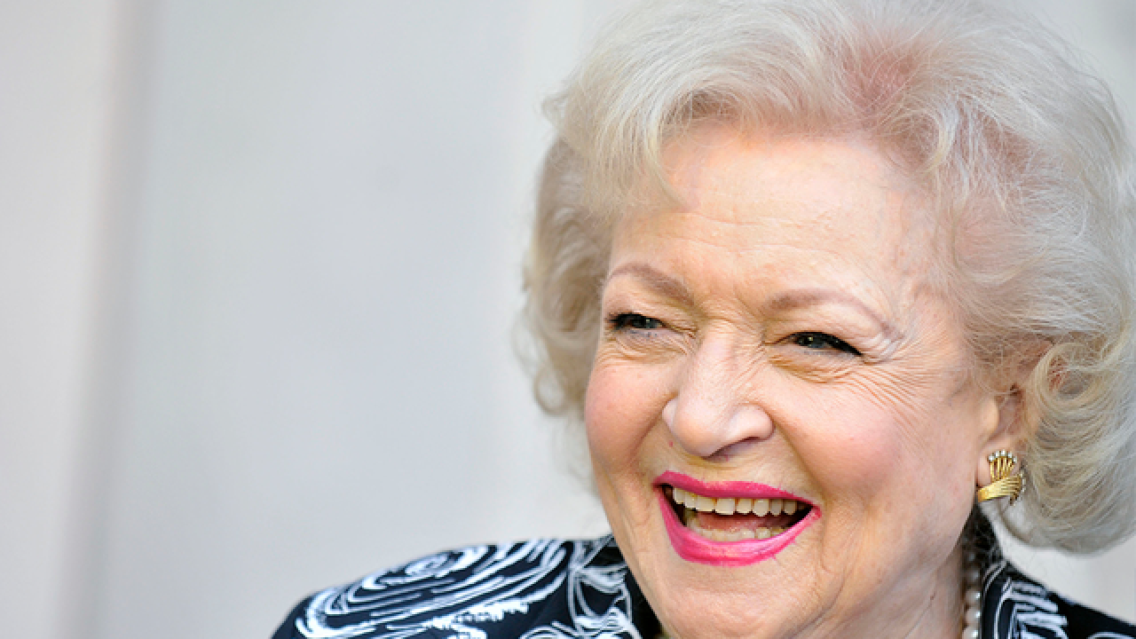 Betty White just turned 96 years young