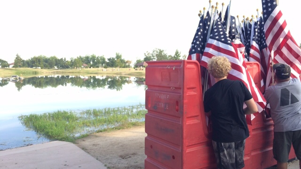 Thousand Flags kicks off Memorial Day weekend