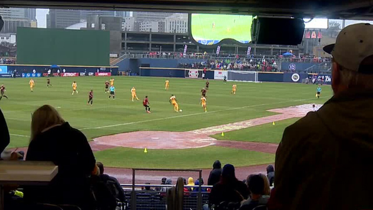 Rain Didn't Keep Fans From Nashville SC's 1st Match
