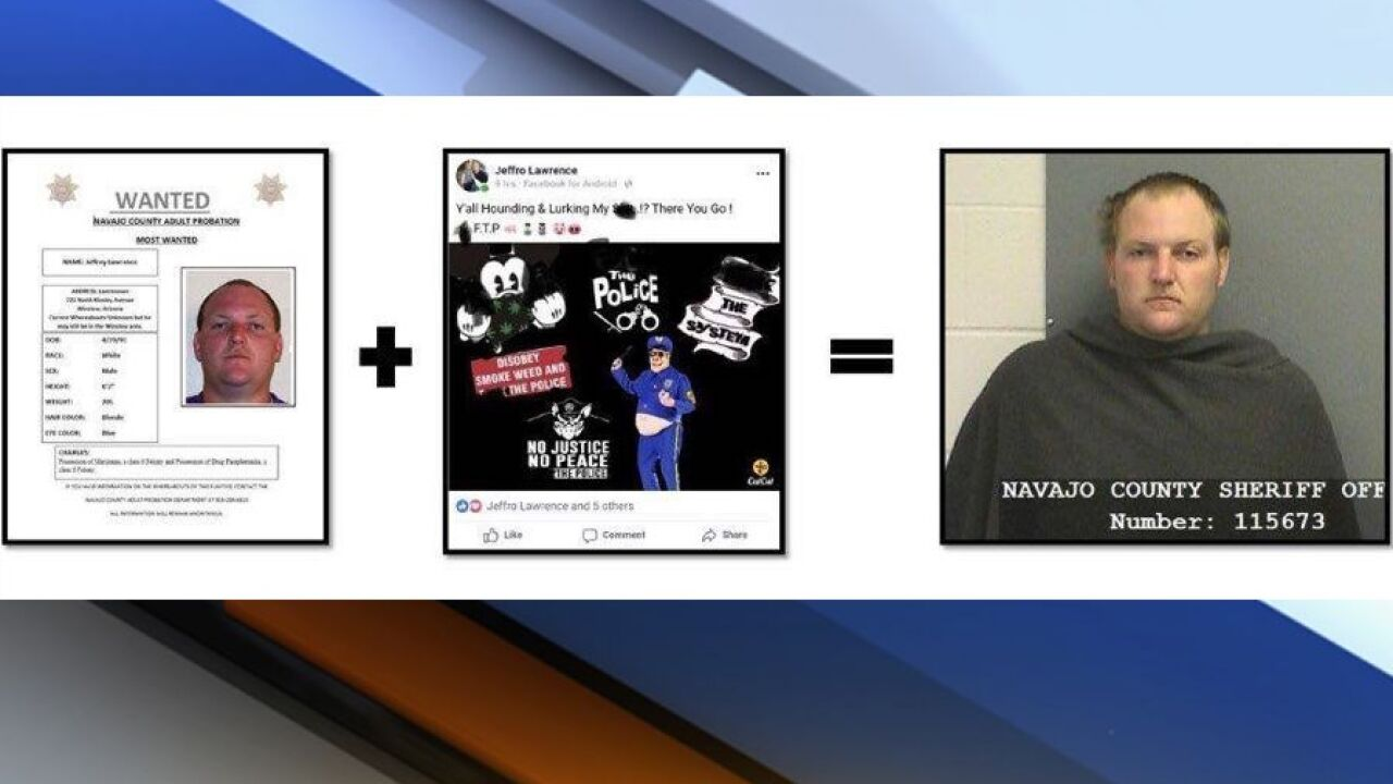 KNXV Navajo County suspect taunts online arrested.jpeg