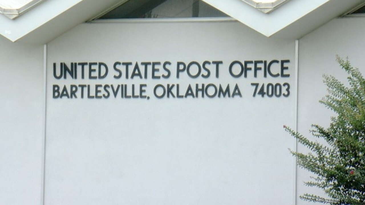 Bartlesville post office loses mail