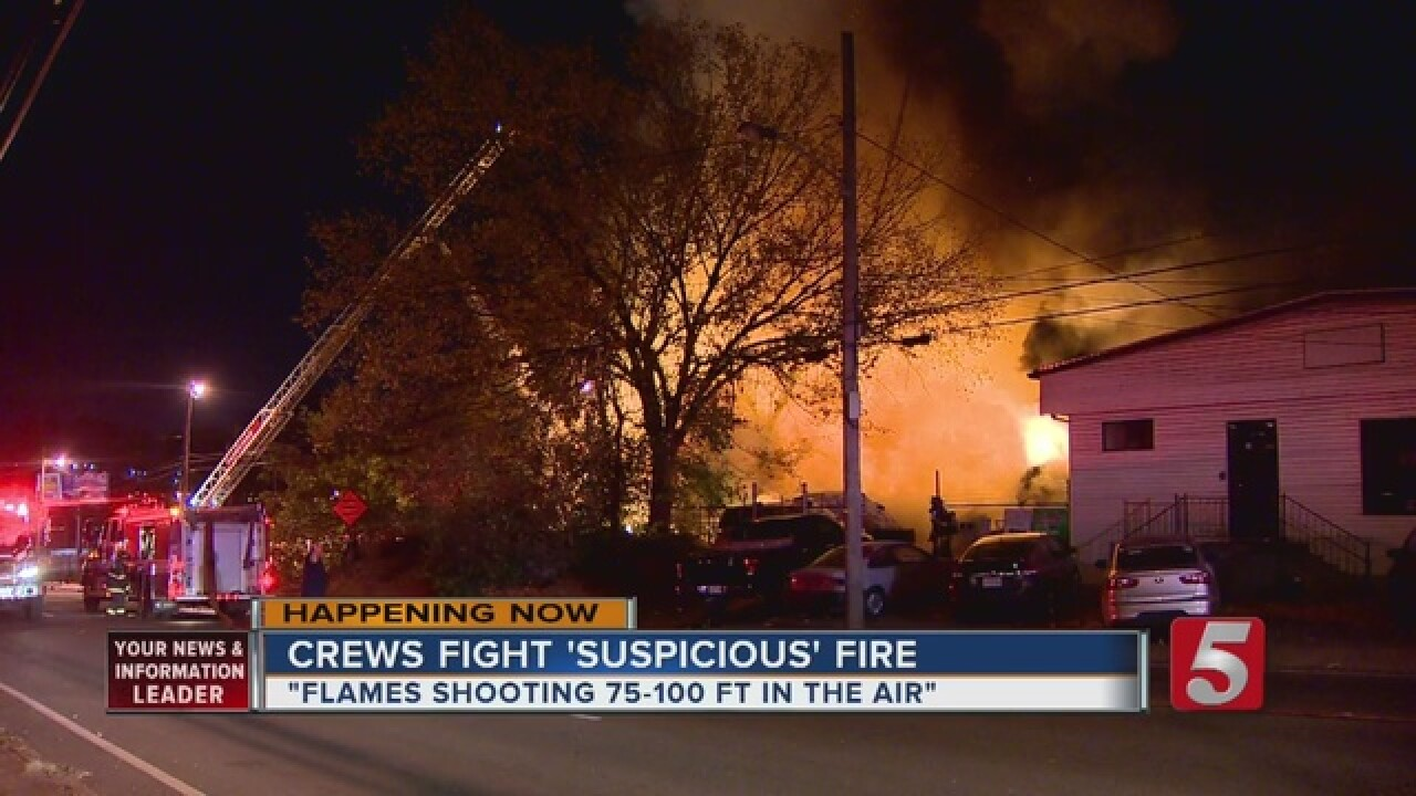 Fire At Vacant Home Called Suspicious