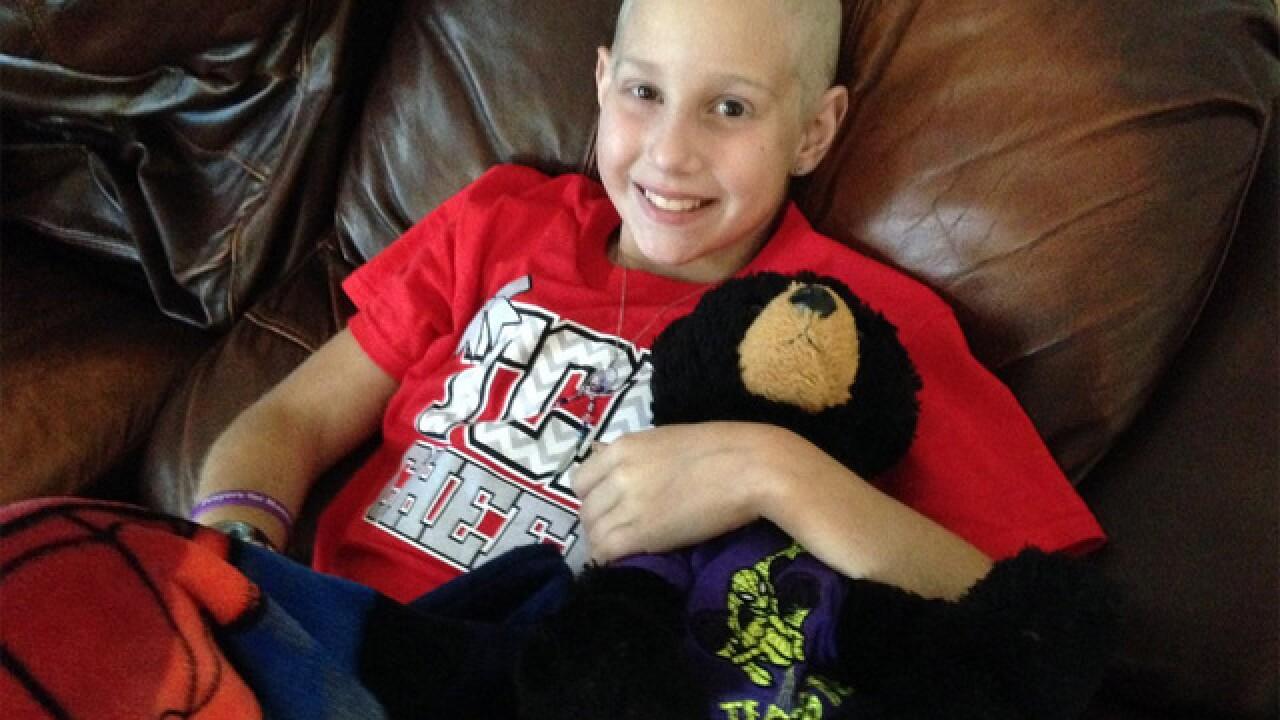 Local girl battles rare form of bone cancer
