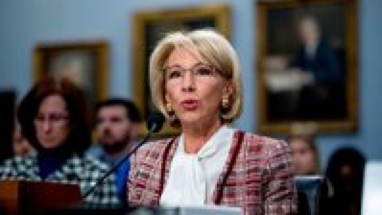 Betsy DeVos blasted for proposing deep cuts to Special Olympics, student programs