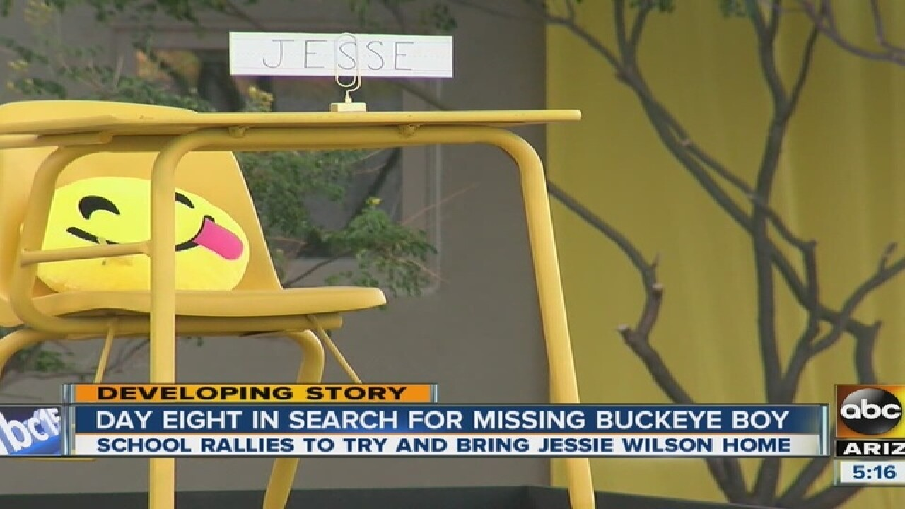 School continues search for missing Buckeye boy