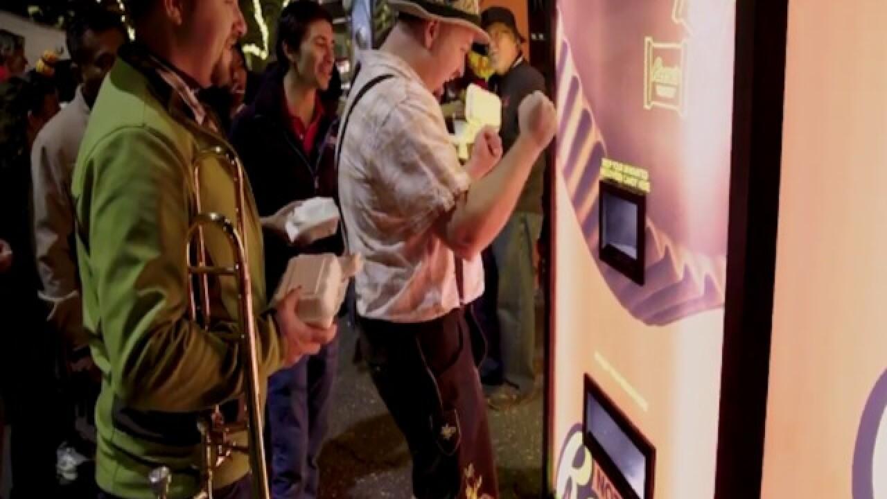 REESES VENDING MACHINE! Meet the Candy Converter