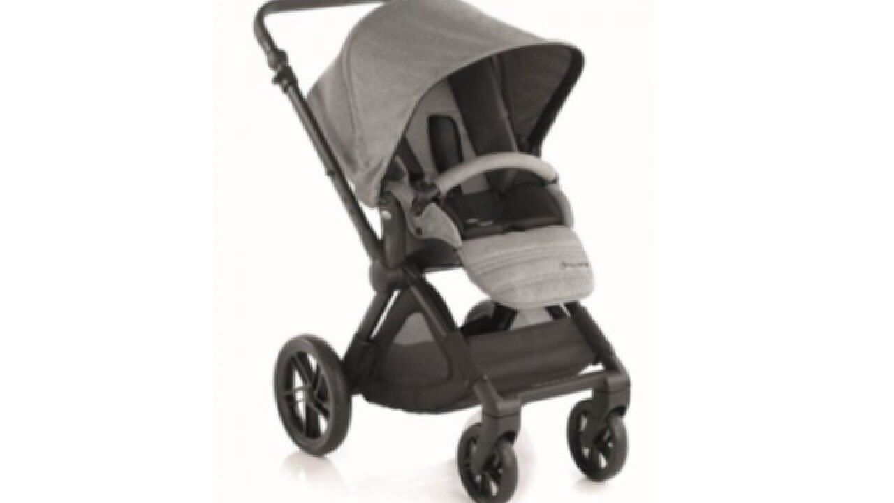 "Baby strollers sold at Toys ""R"" Us recalled"