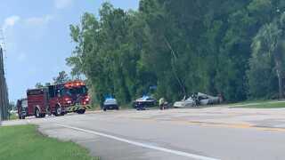Florida Highway Patrol investigates fatal crash on Plantation Road at Willow Lake Circle