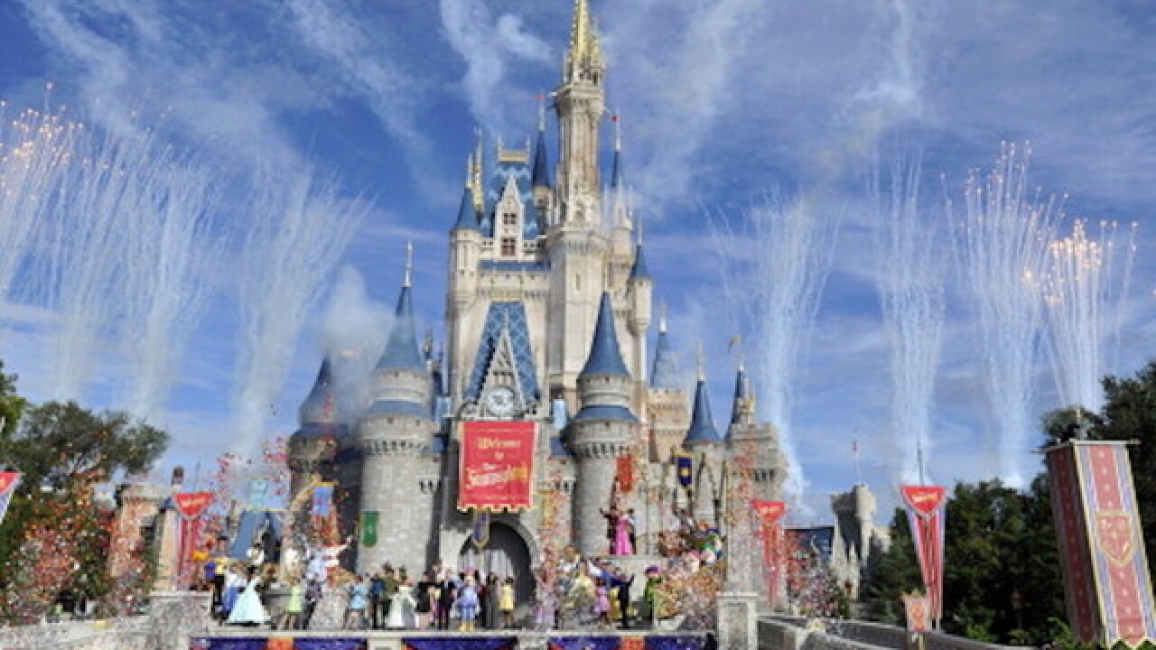 Woman arrested for child abuse at Disney World