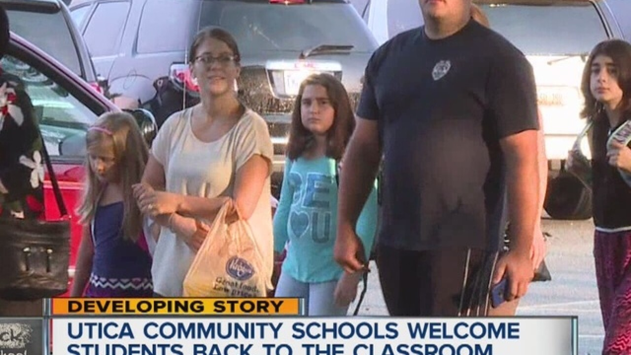 BACK TO SCHOOL: Students ready for first day