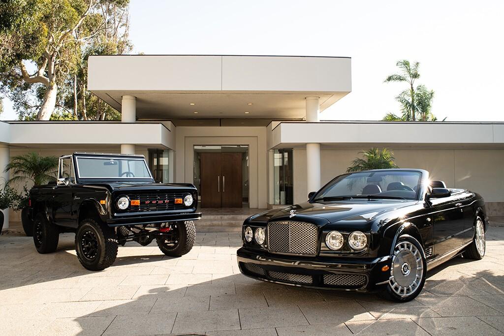 Simon Cowell cars Barrett-Jackson Scottsdale
