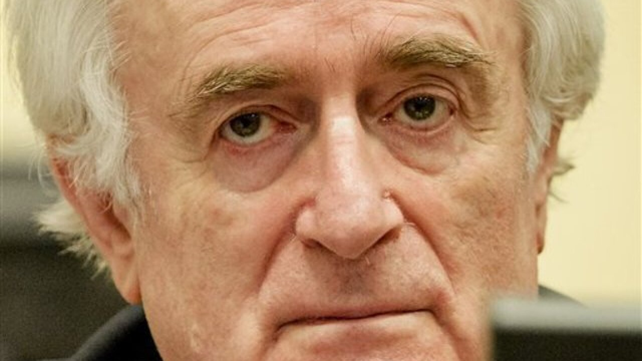 Karadzic convicted of genocide