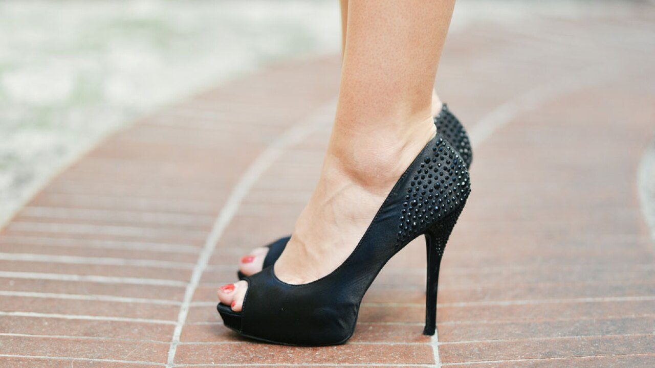 High heels certainly put more pressure on the ball of your feet, which can result in a painful condition called metatarsalgia