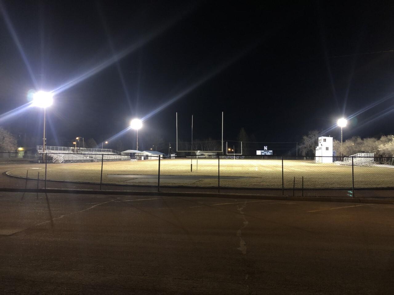 Malta football field lights