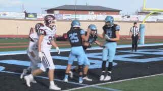 Play of the Night: Pueblo West's end zone interception