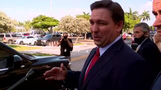 'It was on national TV. It wasn't secret,' Gov. Ron DeSantis says after signing elections bill into law in West Palm Beach, May 6, 2021