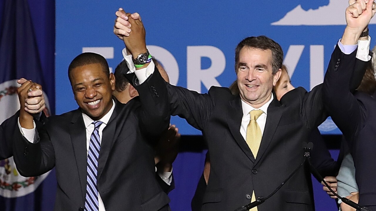 Fairfax would become governor if Northam resigns