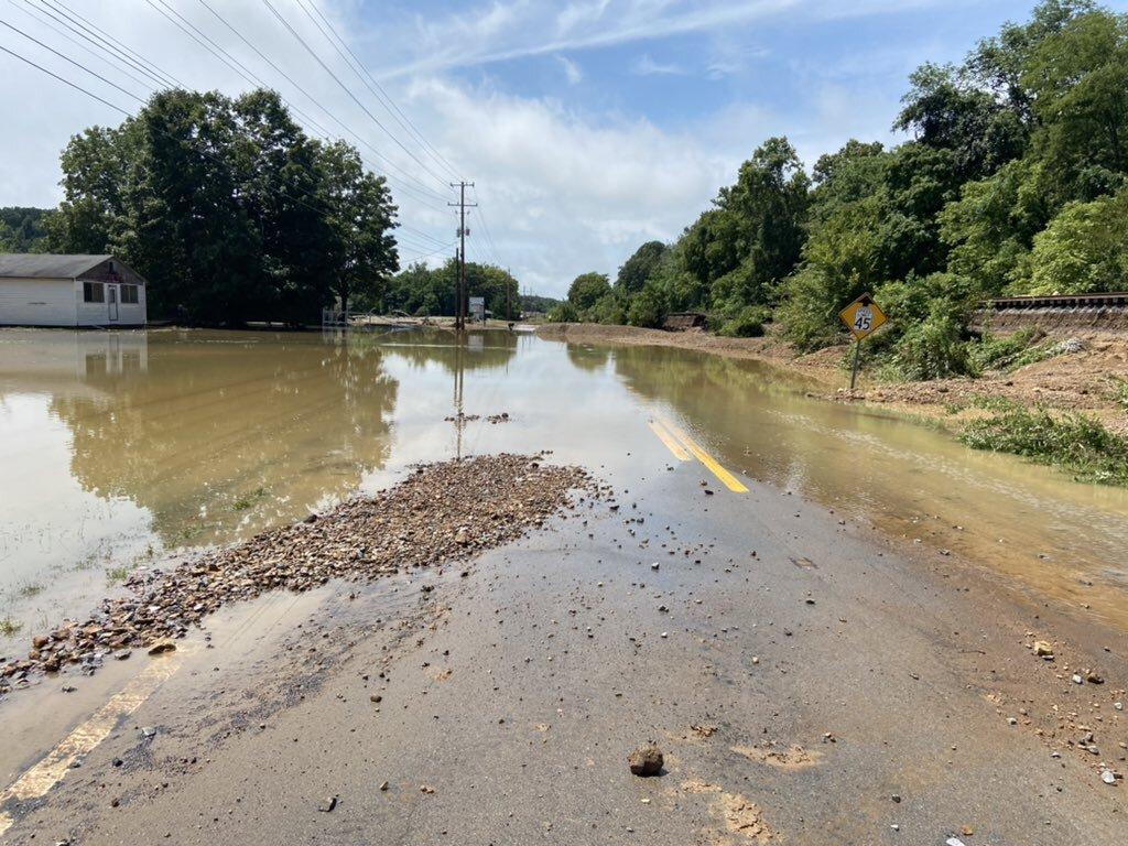 Humphreys County flooding 8/21/21