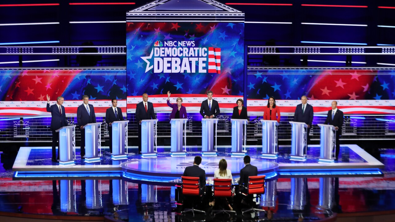 What you need to know about the first Democratic presidential debate