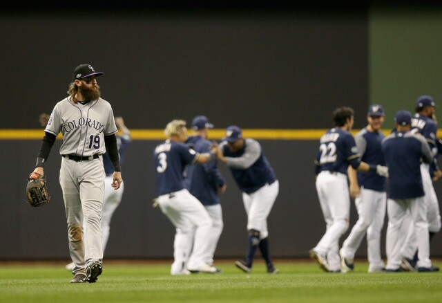 Brewers take Game 1 Of the NLDS in Walk-off fashion [PHOTOS]