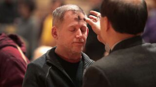 Lent starts today: Here's what the forehead mark symbolizes