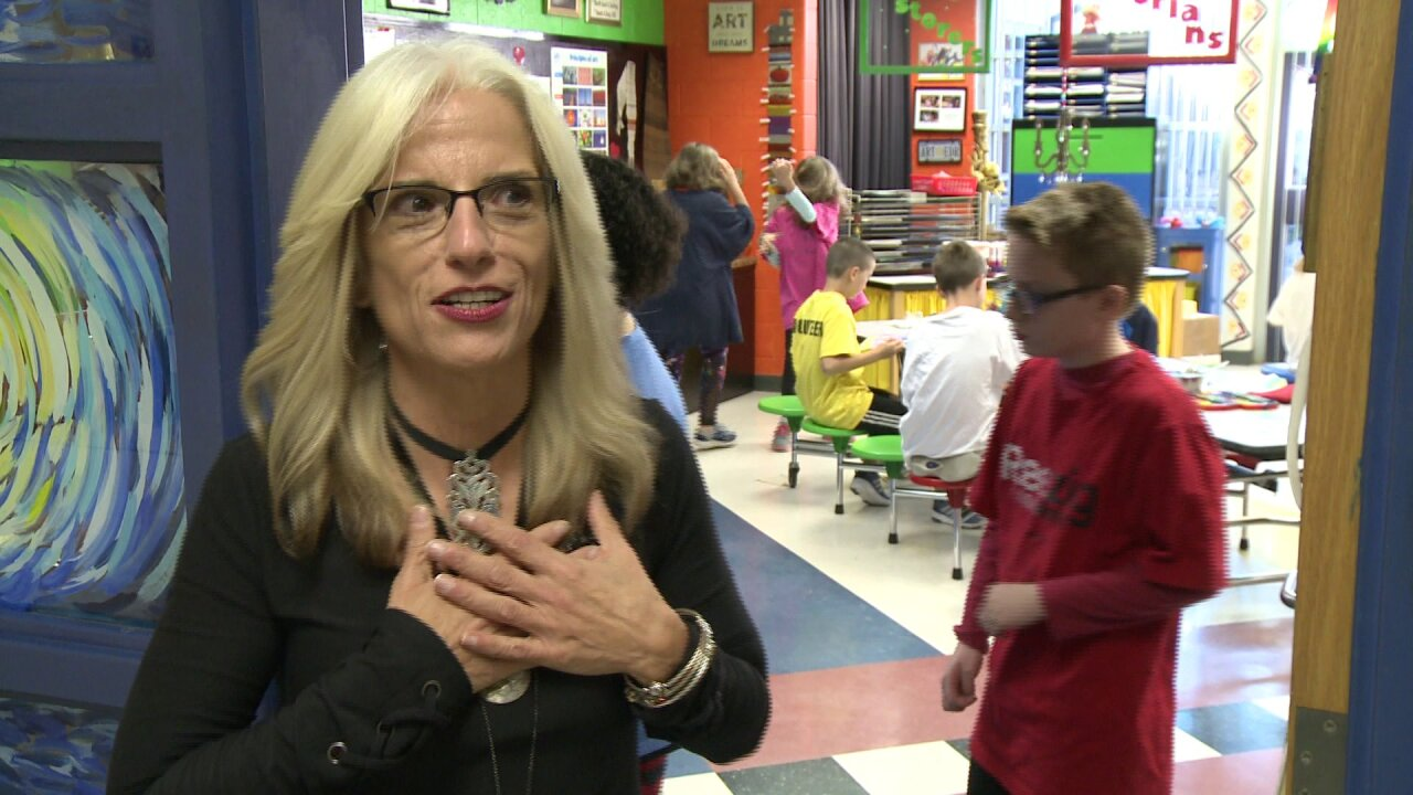 Meet the Chesterfield teacher named 'Art Teacher of the Year'